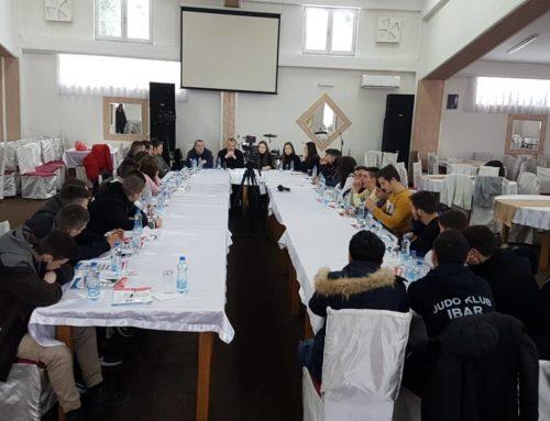 Euromost organizovao u Rožajama predavanje za mlade
